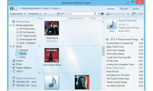 Windows Media Player Bibliothek