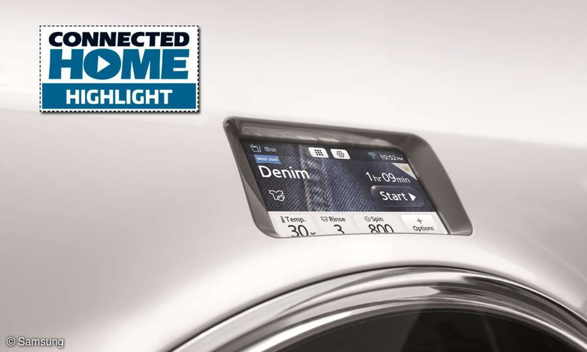 CONNECTED HOME Highlight: Samsung Crystal Blue WW9000
