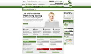 Webhosting Managed Hosting Pro von domainfactory