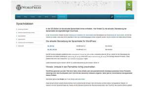 Wordpress: einfach strukturierte Blogs