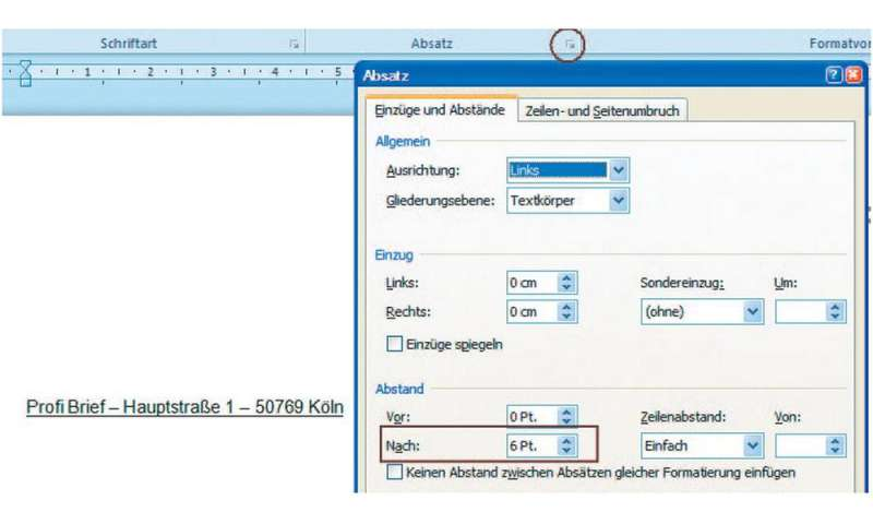 Word Professionelle Briefe Nach Di Normen Entwerfen Pc Magazin