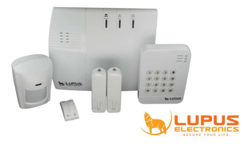 Alarm System XT1 Of Lupus Electronics In The Test