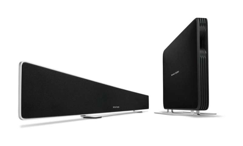 soundbar harman kardon sabre sb 35 im test pc magazin. Black Bedroom Furniture Sets. Home Design Ideas