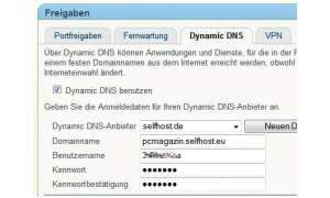 selfhost.de Screenshot
