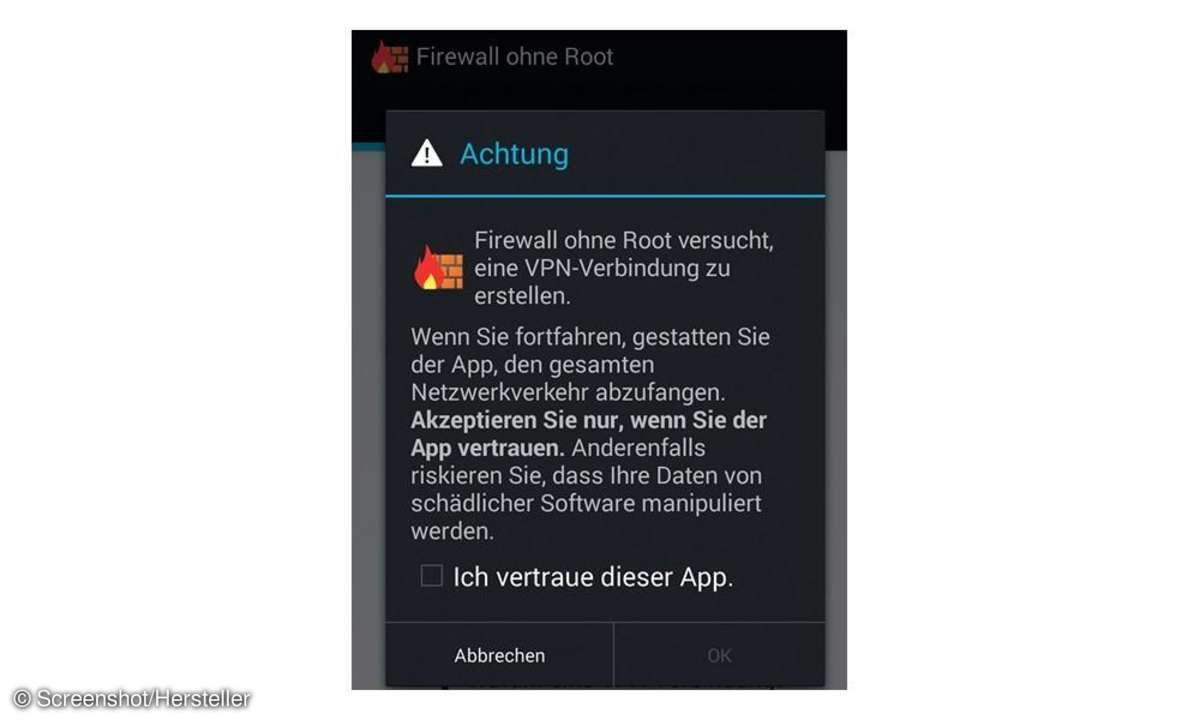 Firewall,App,Android,Firewall ohne Root