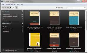 Kindle-Reader, software, ebooks