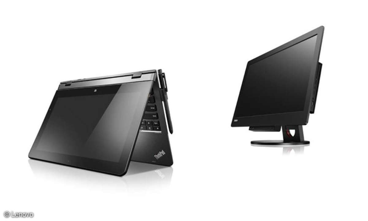 ThinkPad Helix und ThinkCentre Tiny-in-One 23