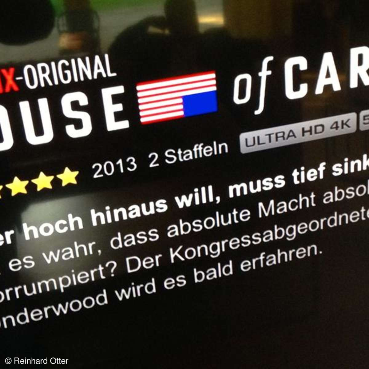 Netflix mit House of Cards