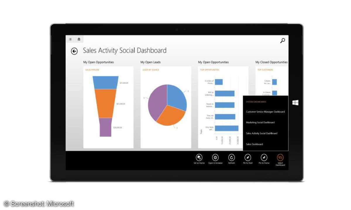 microsoft dynamics crm 2015, preview, neue version, update, collaboration, tool