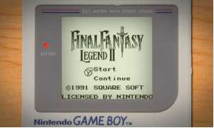 Screenshot Youtube Video Gameboy Start Screens