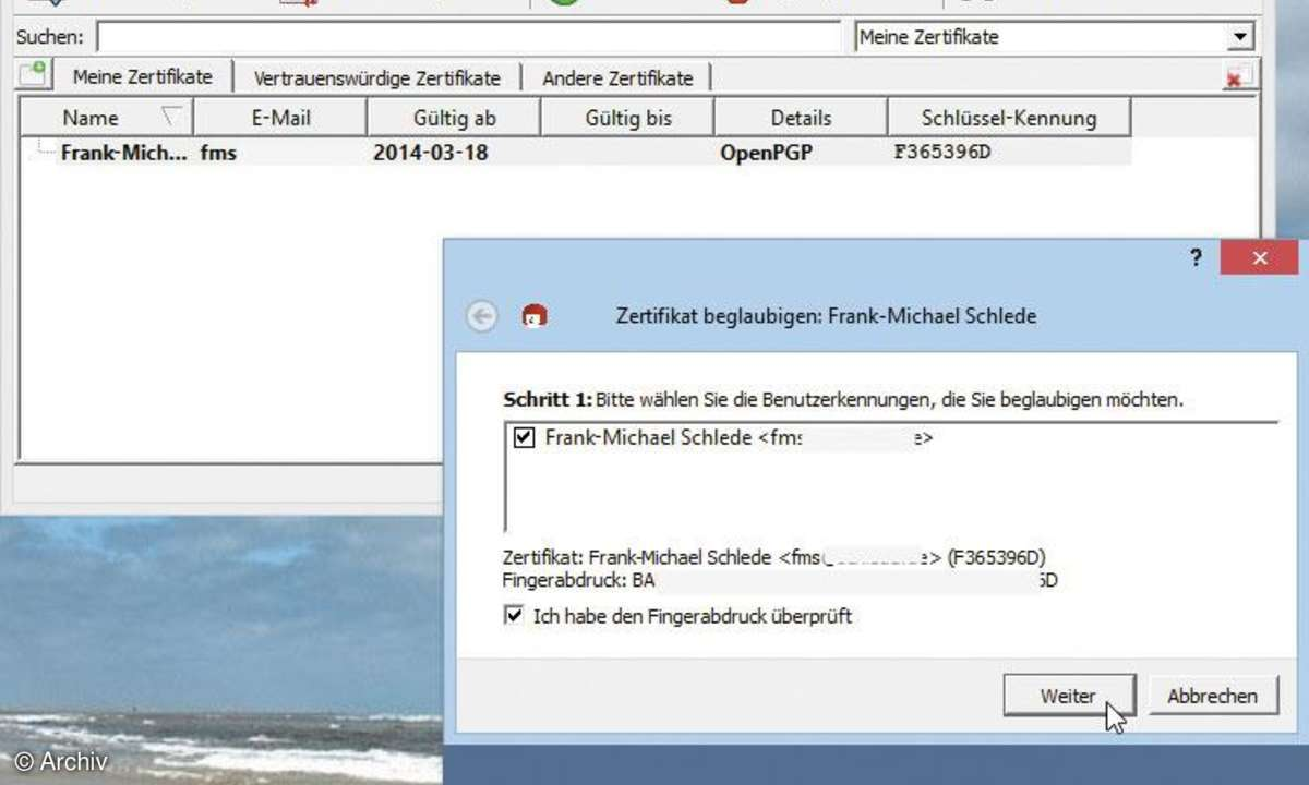 Software GPG4win