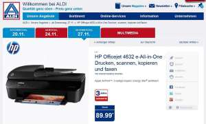 HP Officejet 4632 Aldi Angebot