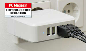 revolt intelligentes 5-Port-USB Wandnetzteil Smart Power