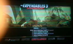 The Expendables 3 Screen von Christoph Reschke