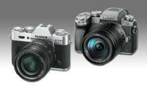 Fujifilm X-T10 vs. Panasonic Lumix DMC-G70