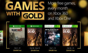 Games with Gold - Oktober 2015
