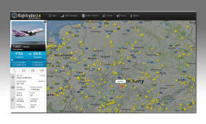 Google Maps - Flightradar24