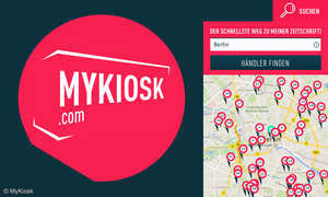 MyKiosk: So finden Sie einen Kiosk in Ihrer Nähe, der Ihr Lieblings-Magazin führt