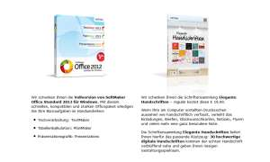 Softmaker Office 2012: Gratis Download