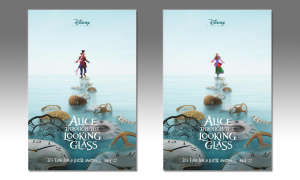 Alice Through The Looking Glass, Poster