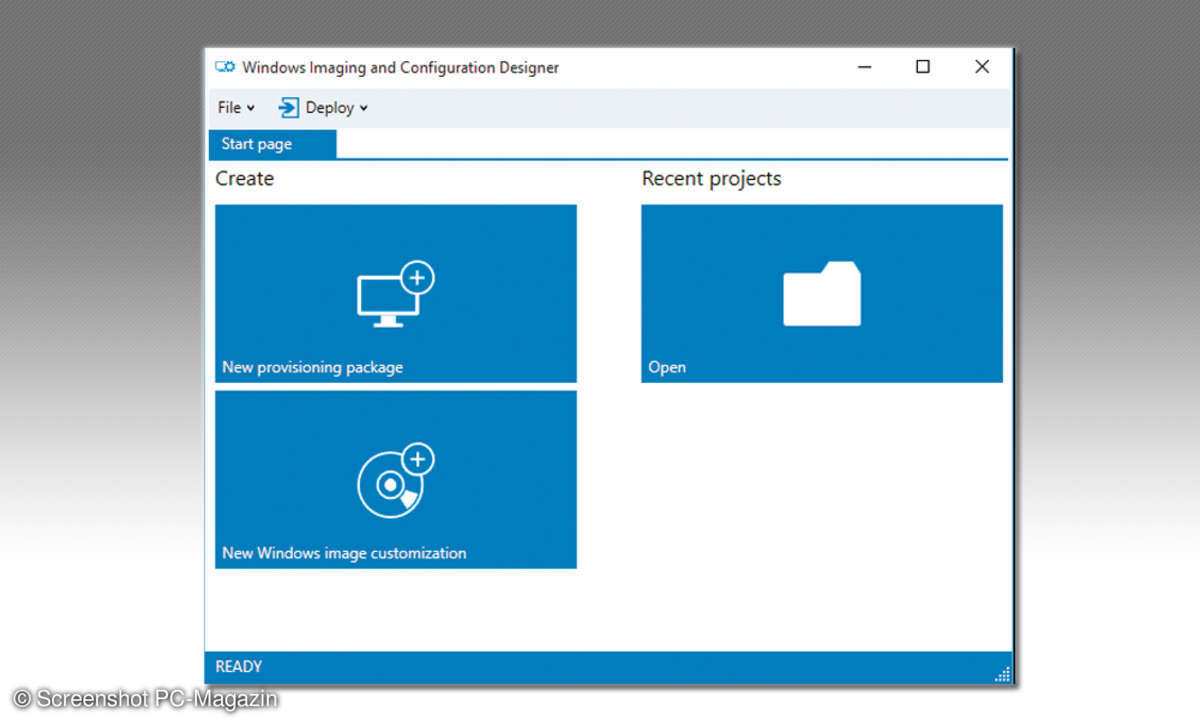 Windows Image and Configuration Designer (WICD)