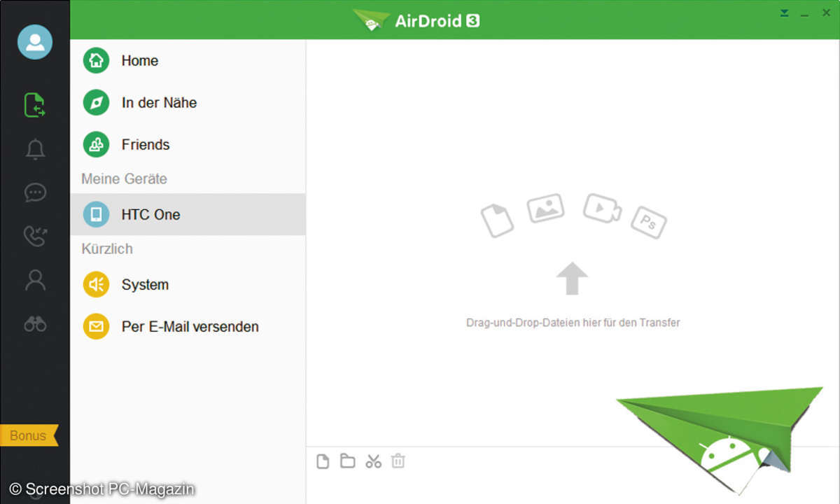 Android PC Verknüpfung