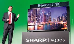 8K TV Sharp