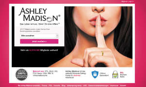 Screenshot: Ashley Madison