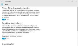 Windows 10 Update getaktete Verbindungen