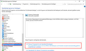 Screenshot: Windows Fotoanzeige