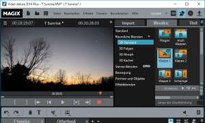 Magix Video Deluxe 2016 Plus Screenshot