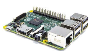 Raspberry Pi 2 - 900MHz quad-core ARM Cortex-A7 CPU