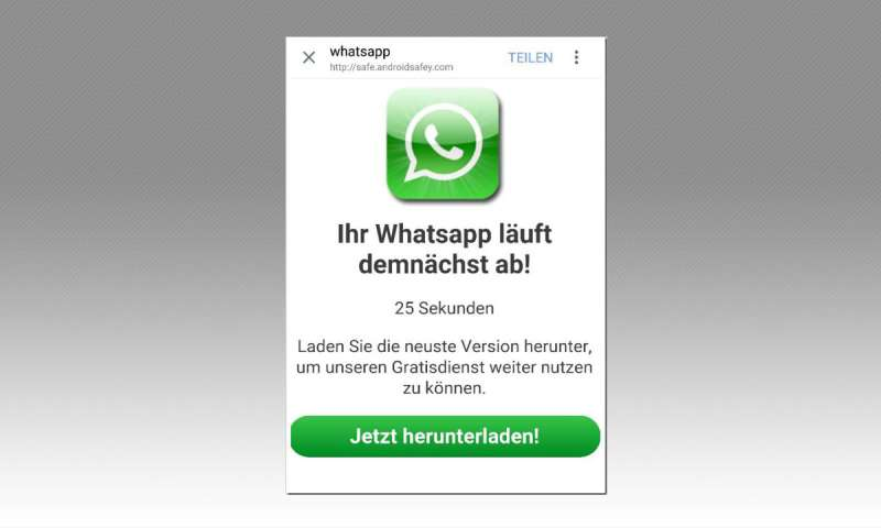 Whatsapp Fake Update