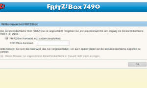 Screenshots Fritzbox