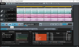 Magix Musicmaker 2016 Screen