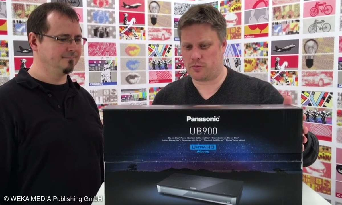 Exklusives Unboxing UHD Blu-ray Player