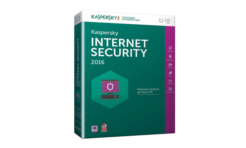 kaspersky internet security 2016 kaufen angebote ab 16 90. Black Bedroom Furniture Sets. Home Design Ideas