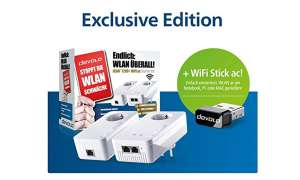 Devolo DLAN 1200+ WiFi AC Starter Kit + WiFi Stick Ac