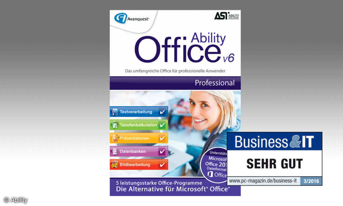 Ability Office v6 Professional Test