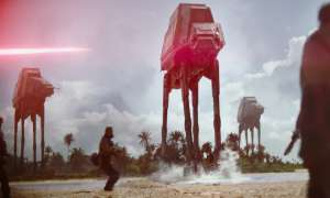 Star Wars Rogue One Szenenfoto AT-AT Walker