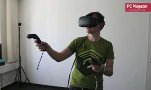 HTC Vive im Hands-on - Eindruecke & Impressionen