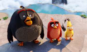 Angry Birds the Movie Foto Bild Red Chuck Bombe