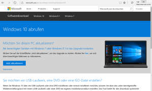 Windows 10 abrufen