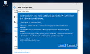 Windows 10 Insider Preview-Builds