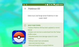 Pokémon GO update 0.31.0 / 1.1.0 Changelog