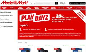 PS4-Aktion bei Media-Markt