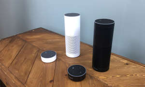 Amazon Echo in zwei Farben