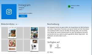 Instagram Windows 10 App Download