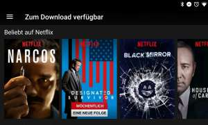Netflix Download Offline Feature