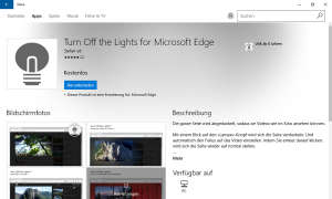 Turn Off The Light For Microsoft Edge